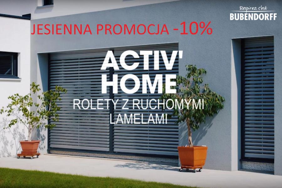 PROMOCJA ACTIV'HOME